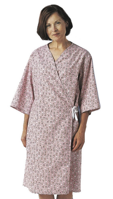 Mammography Gowns, Spring Bouquet Print