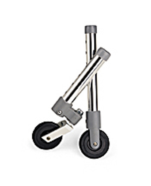 "3"" Walker Swivel Wheels with Glide Caps"