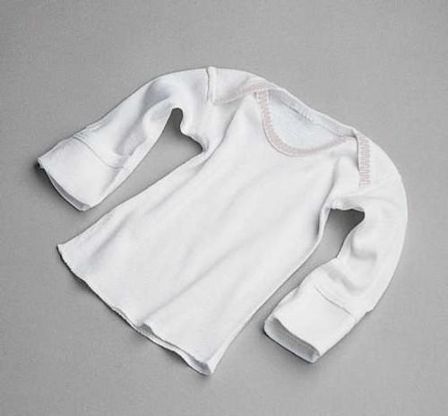 Slipover Infant Shirts - Mitten Cuff