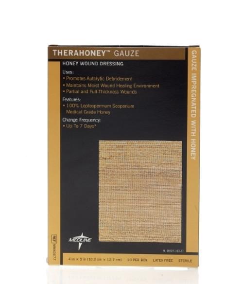Impregnated Dressing TheraHoney Honey-impregnated Sheet Manuka Honey Sterile