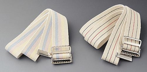 Washable Cotton Material Gait Belts, Multi-Color Pastel
