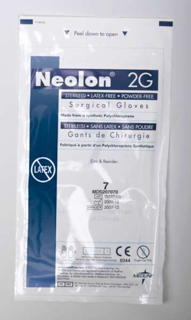 Neolon 2G PF Neoprene Surgical Gloves