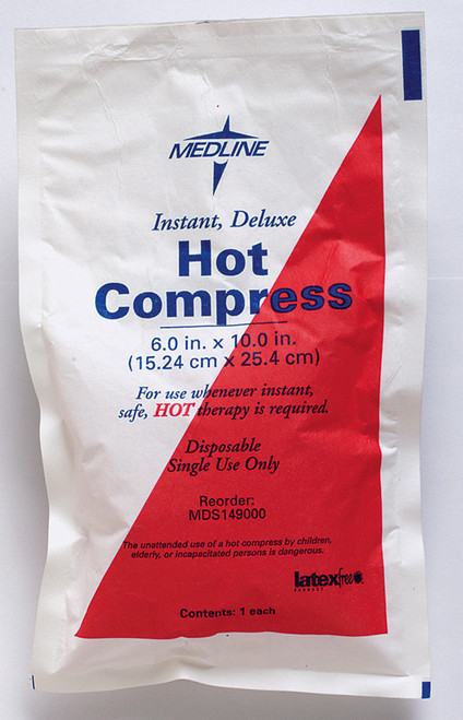 Instant Hot Compress W/ Holder