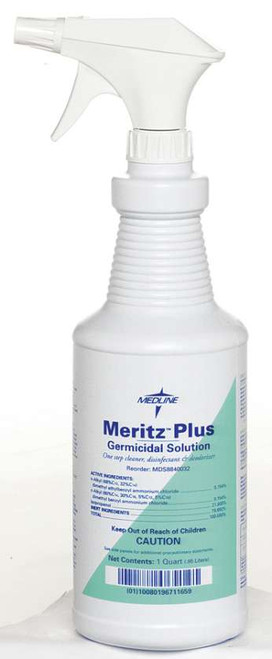 Meritz Plus Disinfectant/Decontaminant - 32 oz