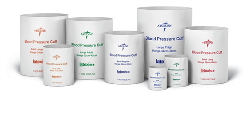 Single Tube Blood Pressure Cuffs with Marquette Connector