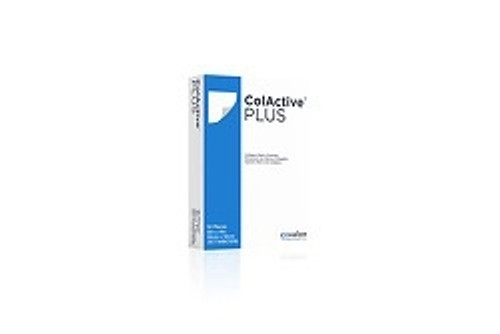 Collagen Dressing ColActive Plus Collagen Sodium Alginate/Carboxyl methylcellulose (CMC)/EDTA