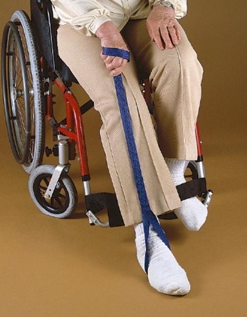 """Medline LIFT LEG LOOP-END BLU 35"""""""