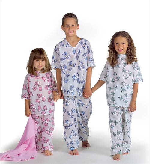 Animal Friends Pediatric Gowns