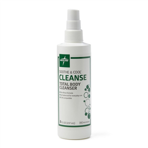 Soothe & Cool No-Rinse Total Body Cleanser