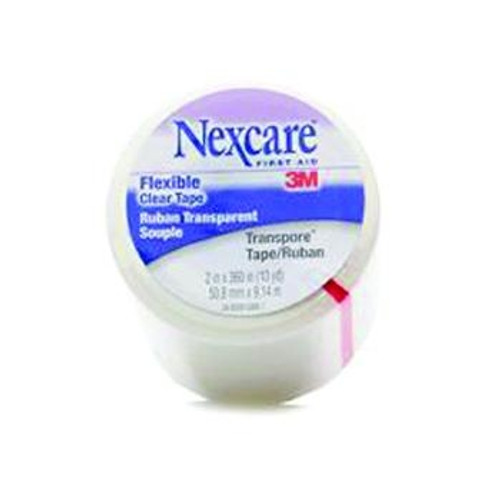 3m nexcare transpore clear first aid tape