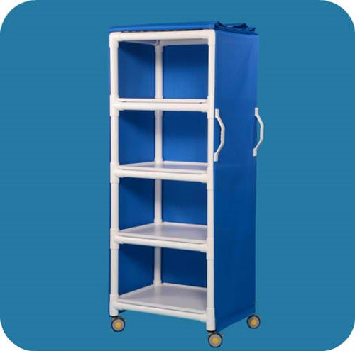 MRI Compatible Multi-purpose Cart with Four Removable Shelves