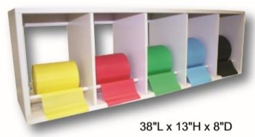 Plastic CanDo Exercise Band Rack