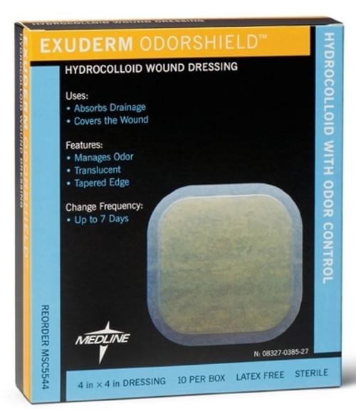 Hydrocolloid Dressing Exuderm OdorShield Sterile