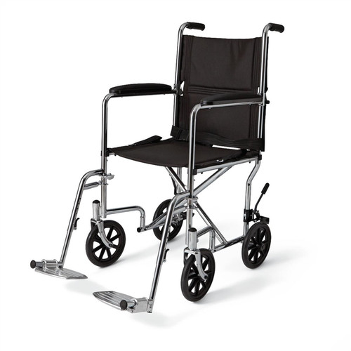 Medline Steel Transport Chair