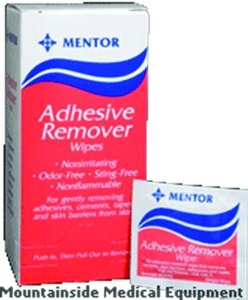 adhesive remover wipe
