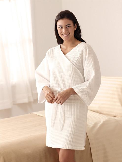 Kimono, Waffle Weave Patient Robes
