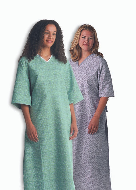 Deluxe Cut Oversized Gowns - Feesia Print