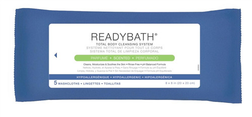 ReadyBath Complete Washcloths