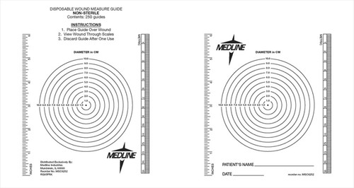 Wound Measuring Guides