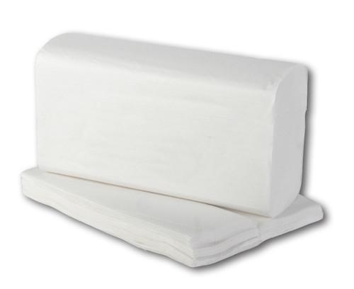 Green Tree Multi-Fold Towels - White