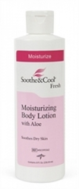 Soothe & Cool Moisturizing Body Lotion, White, 8. OZ