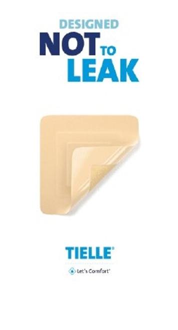 Foam Dressing TIELLE Max Square Non-Adhesive Sterile