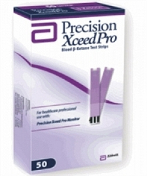 Precision Xceed Pro Blood Glucose Test Strips
