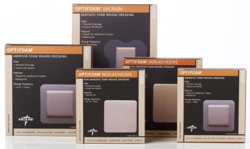 Foam Dressing Optifoam Adhesive with Border Sterile
