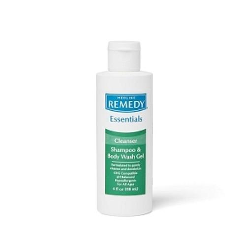 Remedy Basics Shampoo and Body Wash Gel, 4 OZ