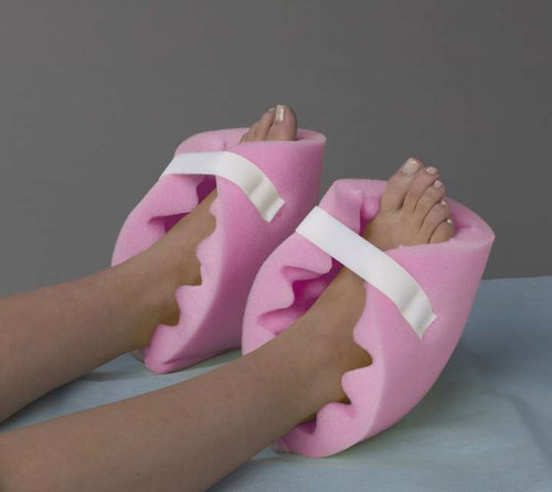 Convoluted Foam Heel Protectors