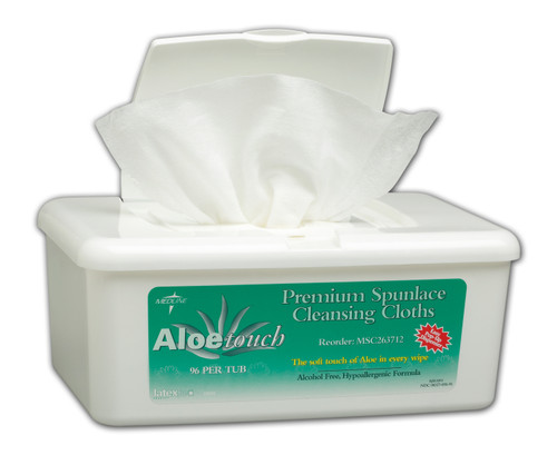 Aloetouch Wipes - Pop-Up Tub Scented