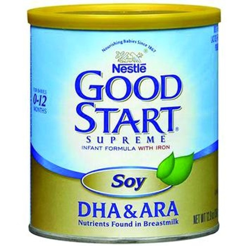 good start supreme soy with dha & ara powder