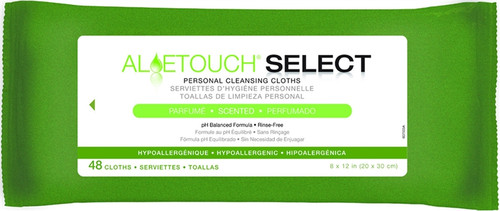 Aloetouch Wipes - Scented