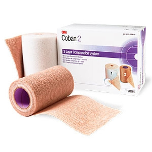 3m coban 2 layer compression system