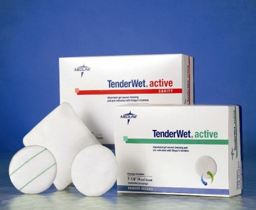 Impregnated Dressing TenderWet Active Cavity Gel Ringers Solution Sterile