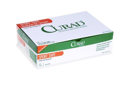 Curad Orth-Porous Sports Adhesive Tape, White