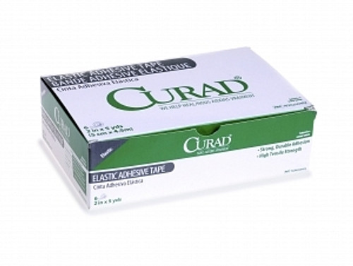 CURAD Elastic Adhesive Bandage, White