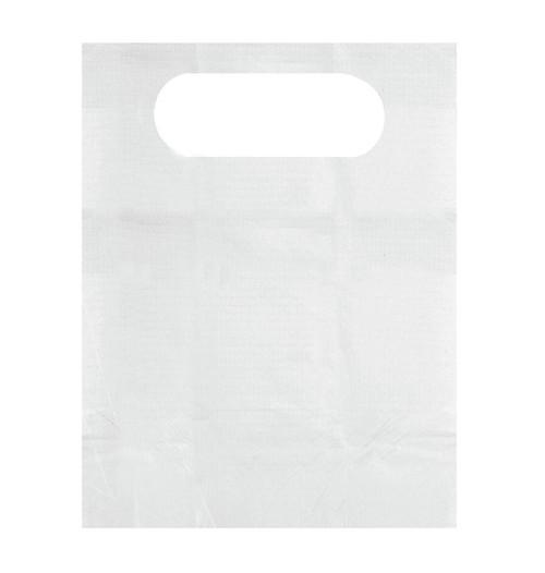 Disposable Slip-On Adult Bibs, White