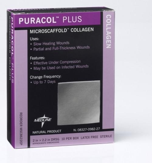 Collagen Dressing Sheet Puracol Plus Collagen Thick