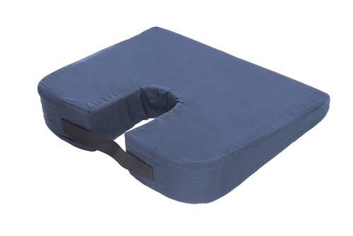 Sloping Seat Bucket Cushion with Cut Out
