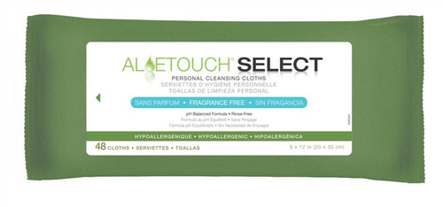 Aloetouch Wipes - Fragrance Free