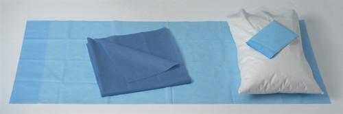 Spunbound Polypropylene Stretcher Sheet Sets with Absorbent Pad