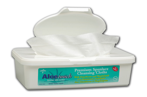 Aloetouch Wipes - Tub Fragrance Free (Dimethicone)