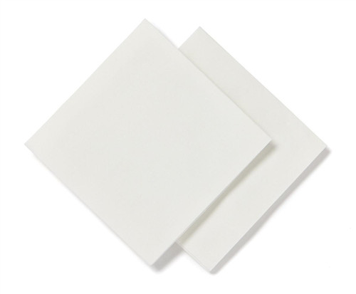 Deluxe Dry Disposable Washcloths, White