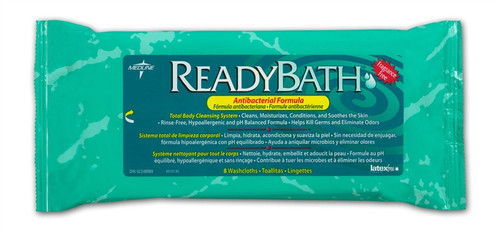 ReadyBath Premium Antibacterial Wipes