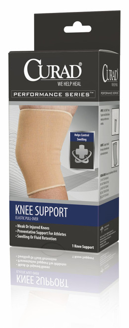 Curad Pull-Over Knee Supports