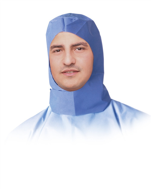 Surgeon Hoods, Blue, One Size Fits Most