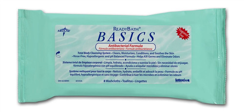 ReadyBath Antibacterial Basic Wipes