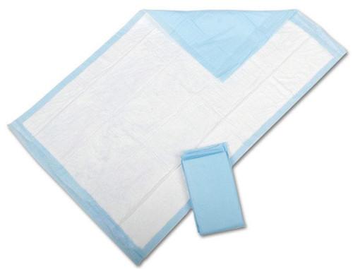 Medline Disposable Fluff Underpads, Blue