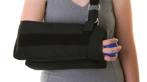 Shoulder Immobilizer with Abduction Pillow, X-Large